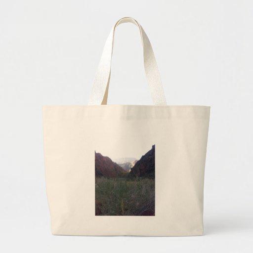 South Rim Grand Canyon National Park Phantom Ranch Canvas Bag
