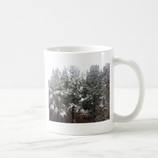 South Rim Grand Canyon National Park Pines Basic White Mug