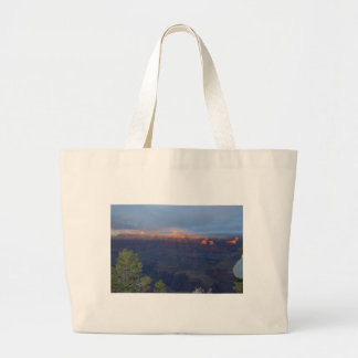 South Rim Grand Canyon Overlook Sunset Canvas Bag