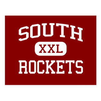 South - Rockets - High - Knoxville Tennessee Postcard