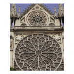 South Rose Window in Notre Dame Cathedral in