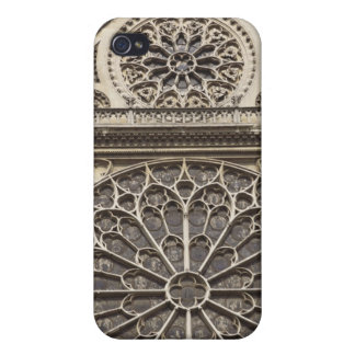 South Rose Window in Notre Dame Cathedral in iPhone 4/4S Cases