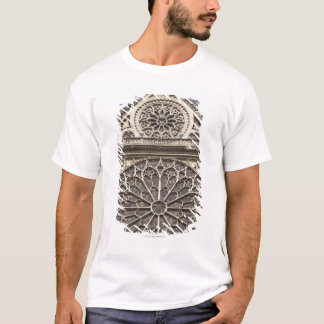 South Rose Window in Notre Dame Cathedral in T-Shirt