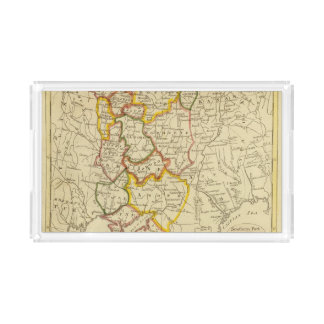 South Russia in Europe Acrylic Tray