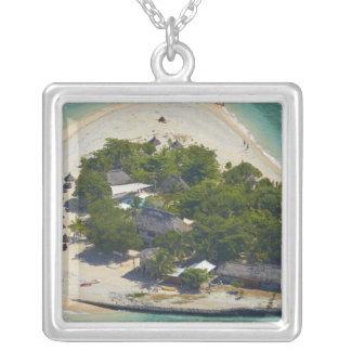 South Sea Island, Mamanuca Islands, Fiji Silver Plated Necklace