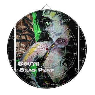 'South Seas Dead' (Tiki Zom) Dart Board