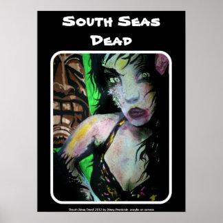 'South Seas Dead' Zombie Poster