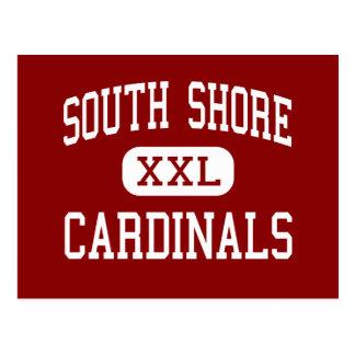 South Shore - Cardinals - High - Port Wing Postcard