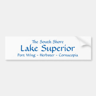South Shore Lake Superior Bumper Sticker