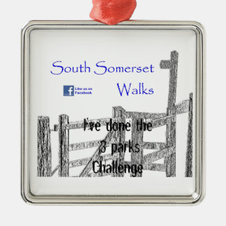 South Somerset Walks Christmas Ornament