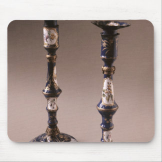 South Staffordshire pair of candlesticks, c.1765 Mouse Mat
