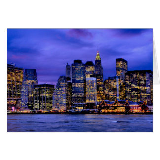 South Street Seaport Greeting Card