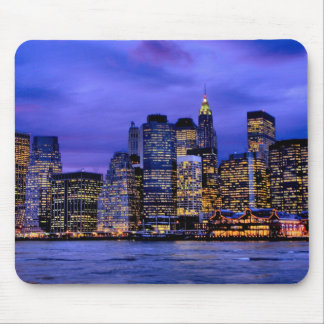 South Street Seaport Mouse Pad