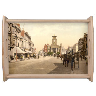 South Street, Worthing, Sussex, England Serving Platter