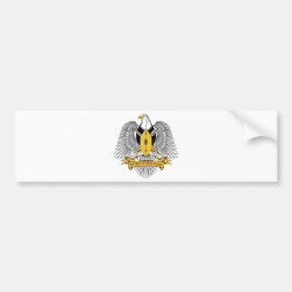 South Sudan Coat of Arms Bumper Sticker