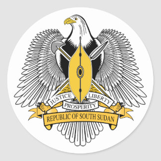 South Sudan Coat of Arms Sticker