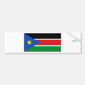 South Sudan Flag Bumper Sticker