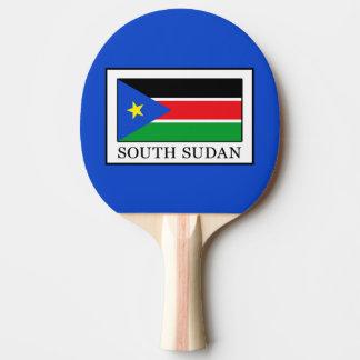 South Sudan Ping Pong Paddle