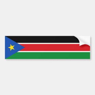 South Sudan/Sudanese Flag Bumper Sticker