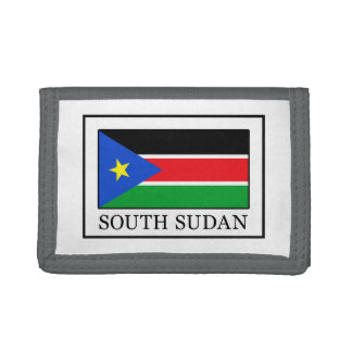 South Sudan Trifold Wallet