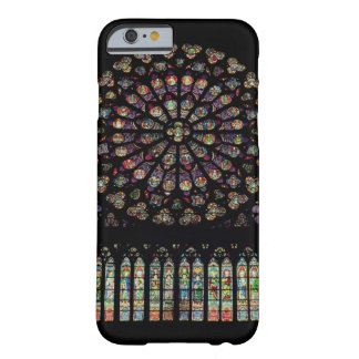 South transept rose window depicting Christ in the Barely There iPhone 6 Case