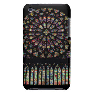 South transept rose window depicting Christ in the iPod Case-Mate Case