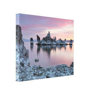 South Tufa, mono Lake, Eastern Sierra, sunrise, Gallery Wrapped Canvas