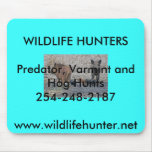 South TX Hog Hunters mouse pad