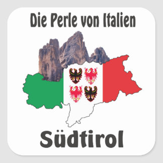 South Tyrol - Alto Adige - Italy - Italia sticker