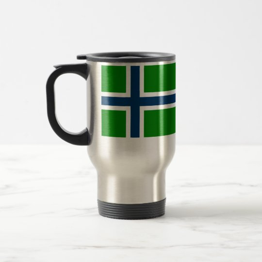 South Uist, United Arab Emirates flag Travel Mug