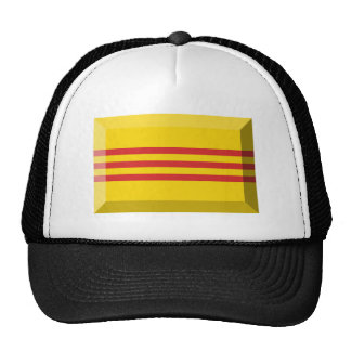 South VietNam Flag Jewel Cap