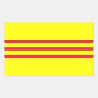 South Vietnam* Flag Stickers