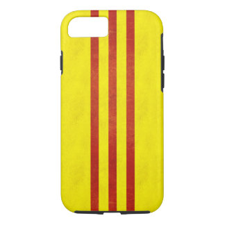 South Vietnam Light Grunge Flag iPhone 7 Case