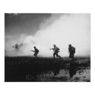 South Vietnamese Infantry Poster