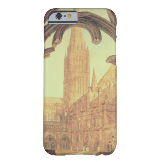 South View of Salisbury Cathedral from the Cloiste Barely There iPhone 6 Case