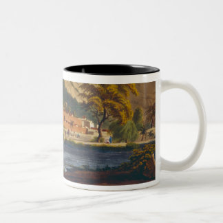 South view of Sewandroog, illustration from 'Twelv Two-Tone Coffee Mug