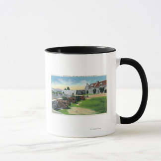 South Wall, Southwest Bastion, South Barracks Mug