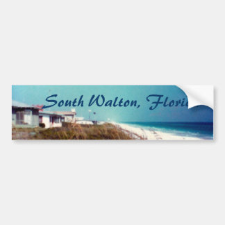 South Walton, Florida Car Bumper Sticker