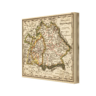South West Germany Canvas Print