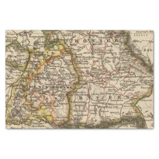 South West Germany Tissue Paper