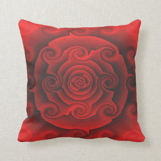 South Western Desert Red Rose Style Cushion