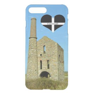 South Wheal Frances Tin Mine Cornwall England iPhone 8 Plus/7 Plus Case