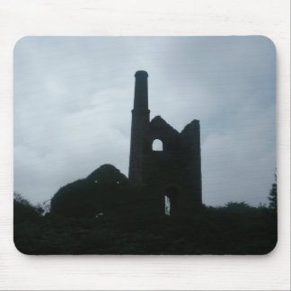 South Wheal Frances Tin Mine Cornwall England Mouse Mat