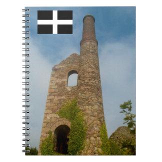 South Wheal Frances Tin Mine Cornwall England Notebooks