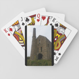 South Wheal Frances Tin Mine Cornwall England Playing Cards