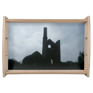 South Wheal Frances Tin Mine Cornwall England Serving Tray