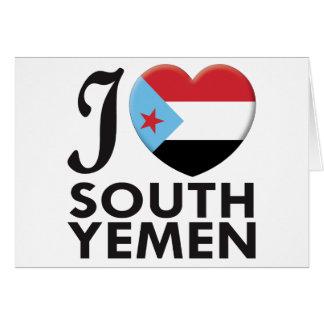 South Yemen Love Greeting Card