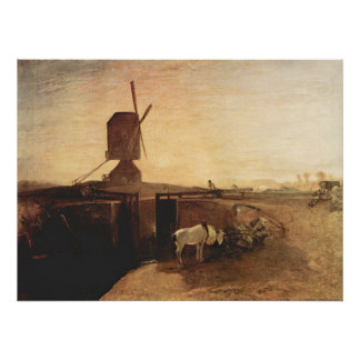 Southall Mill by Joseph Mallord Turner Print