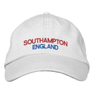 Southampton* England Adjustable Hat Baseball Cap