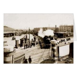 Southampton - Terminus (Docks) Station Card
